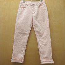 Gap Kids 1969 Girls Peach Boy Fit Jeans - Sz 14 Photo