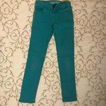 Gap Kids 1969 Super Skinny Green Jeans - Girls Size 8 - Nice Photo
