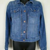 Gap Kids 1969 Unisex Cotton Blend Medium Wash Jean Jacket Sz Xxl Photo