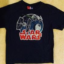 Gap Kids Baby Gap Junk Food T Shirt Star Wars Navy Boys 5 Euc  Photo