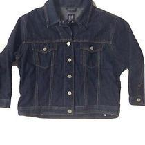 Gap Kids Big Girl Denim Jean Jacket Girls Size Large Photo