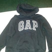 Gap Kids Black Sweatshirt Hoodie Youth Size 8  Photo