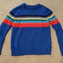 Gap Kids Blue Multi Stripe Sweater  Size M (8) Boys Photo