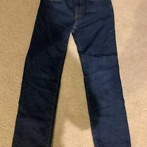 Gap Kids Boys 1969 Dark Blue Light Weight Jeans Size 10 Regular Fit Photo