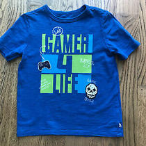 Gap Kids Boys Blue Short Sleeve T-Shirt Size S (6-7) Photo