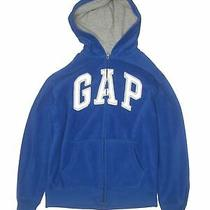 Gap Kids Boys Blue Zip Up Hoodie Xl Youth Photo