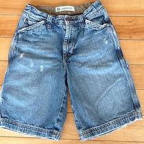 Gap Kids Boys Carpenter Jean Shorts 10 Denim Distressed Vintage Photo