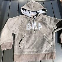 Gap Kids Boys Gray Fleece Zip Up Hoody Sweatshirt S 6-7 Selling Tons Small Photo