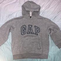 Gap Kids Boys Gray Hoody Sweatshirt Top S 6-7 Warm & Cozy Selling Tons Photo