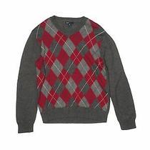 Gap Kids Boys Gray Pullover Sweater 12 Photo