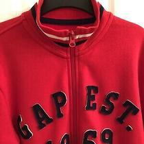 Gap Kids Boys Jacket Size Xl (12) Red