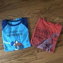 Gap Kids Boys' Set of 2 Long Sleeves Graphic T-Shirts. Size L (10) Photo