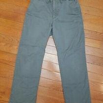 Gap Kids Boys Size 8 Straight Fit Brown Adjustable Waist Pants Boy Bottoms  Photo