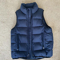 Gap Kids Boys Size Xs Regular Navy Blue Puffer Vest Photo