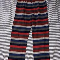 Gap Kids Boys Striped Fleece Pajamas Pants Pjs Size 10 Photo