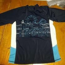 Gap Kids Boys Xl 12 Swim Water Shirt Top Blue  Nice Photo