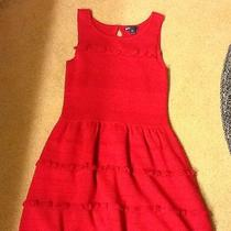 Gap Kids Bright Ruby Sweater Dress Large 10 Photo