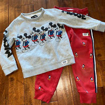Gap Kids Disney Mickey Mouse Size 5 Sweatshirt Sweatpants Photo