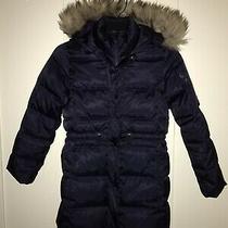 Gap Kids Down Dark Navy Blue Coat Sz M. Great Pre-Owend Condition Photo
