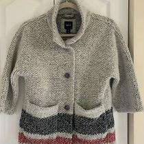 Gap Kids  Girl's Cardigan Sweater  Wool Blend-  Size  8/9(m) Photo