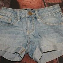 Gap Kids Girl's Denim Shorts Size 5t Photo