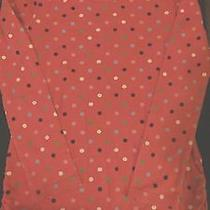 Gap Kids Girl's Pink Polka Dot Top / Shirt With Matching Knee Socks - L Large 10 Photo
