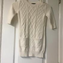 Gap Kids Girls White Sweater Dress Size 6/7 S Photo
