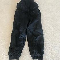 Gap Kids Girl Size Small Black Snow Pants Euc Photo