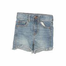 Gap Kids Girls Blue Denim Shorts 5 Slim Photo