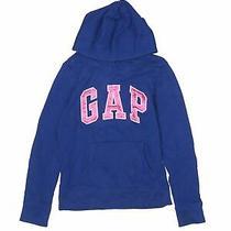 Gap Kids Girls Blue Pullover Hoodie 10 Photo