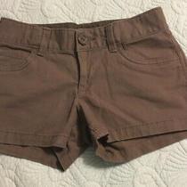 Gap Kids Girls Brown Shorts W/ Adjustable Waist 12 Reg Photo