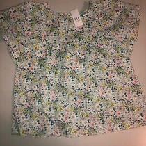 Gap Kids Girls Floral Shirt Size M Photo