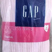 Gap Kids Girls Footless Tights Xl/xxl Newpowder/pink Nwt Photo