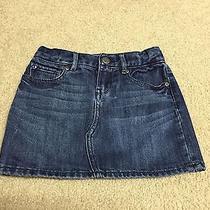 Gap Kids Girls Jean Skirt Size 6 Adjustable Waist So Cute Photo