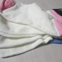 Gap Kids Girls No Show Socks  3 Pairs Large Shoe Size 3-4 Nwt 3 Colors Photo