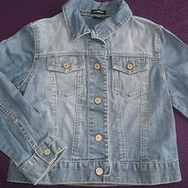 Gap Kids Girls Size S 6 7 Denim Blue Jean Jacket Photo