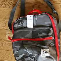 Gap Kids Gray Camo Insulated Lunch Box W/shoulder Strap Nwt 24.95 Photo