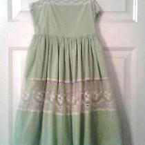 Gap Kids Green Lace Dress Sotton Size 10 Just Beautiful Photo