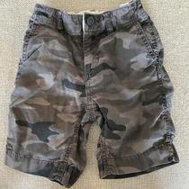 Gap Kids Grey Camo Shorts Size 5 Photo
