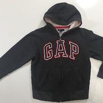Gap Kids Hoodie Logo Sweatshirt Zippered Size M (8) Photo