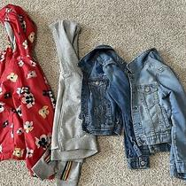 Gap Kids Jacket Lot Girls Sz Med Denim Jean Photo