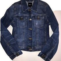 Gap Kids Jean Jacket Girls Medium Denim Size 8/9 Photo