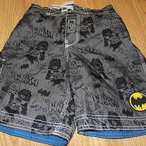 Gap Kids Junk Food Batman Swim Trunks Swimsuit S (6-7) Photo