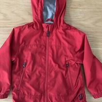 Gap Kids Lined Windbreaker Jacket Boys Size 4 Red Photo