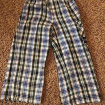 Gap Kids Little Boy Pajama Pants  Size 4  Plaid  Photo