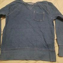 Gap Kids Lived in Large Demin Long Sleeve Sweatshirt  Photo