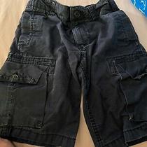 Gap Kids Navy Blue Cargo Shorts Size 8 Photo