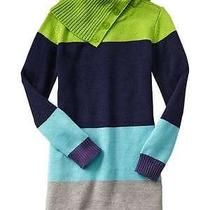Gap Kids Nwt Colorblock Sweater Dress Sold Out Size L Large 10 Photo