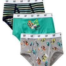 Gap Kids Nwt Construction Dig Bulldozer Briefs 3pk Pairs Underwear Xxs 2 3 Photo