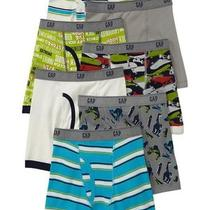 Gap Kids Nwt Skater Skateboard Boxer Briefs 7 Pairs Underwear Xxs 2 3 Years Photo